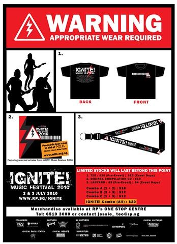 IGNITE! 2010 Merchandise Poster