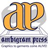 Ambigram Press Logo Design