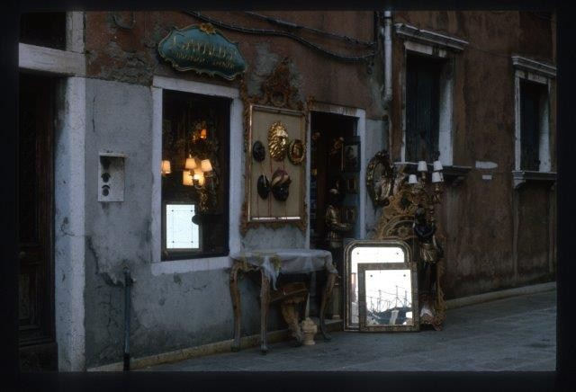 Antique Shop, Venice, Italy