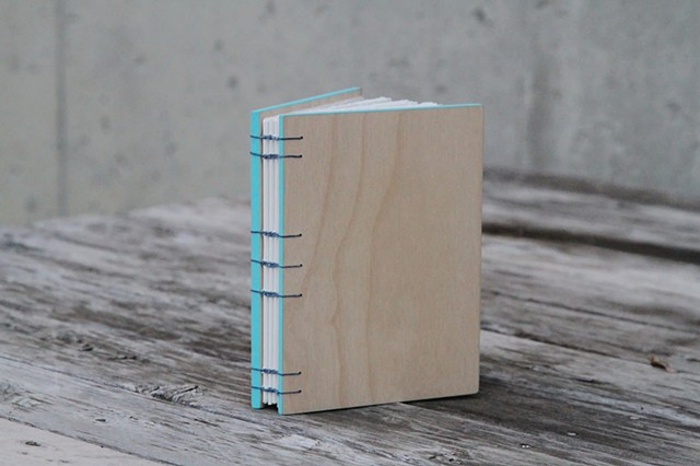 small notebook - robin's egg trim