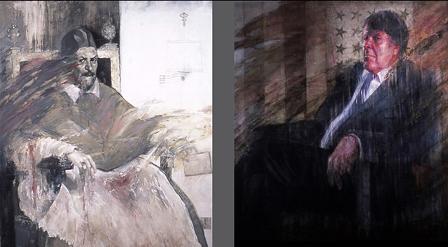 Church and State - I and II (diptych)