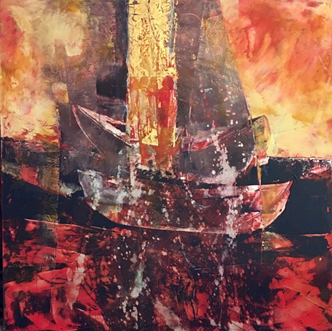 "My piece called ""Red Sea Crossing"" is featured on the link to the show at Center Gallery, Grand Rapids, MI"