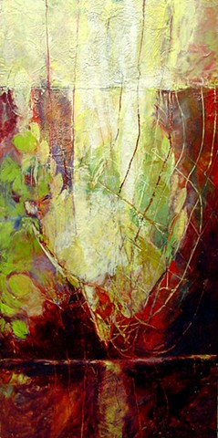 Thirsting  original encaustic