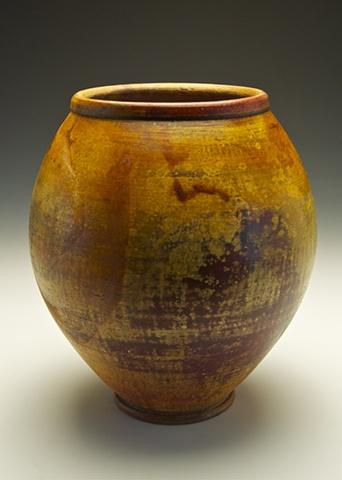 ferric treated vase