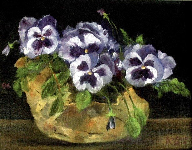 Playful Pansies