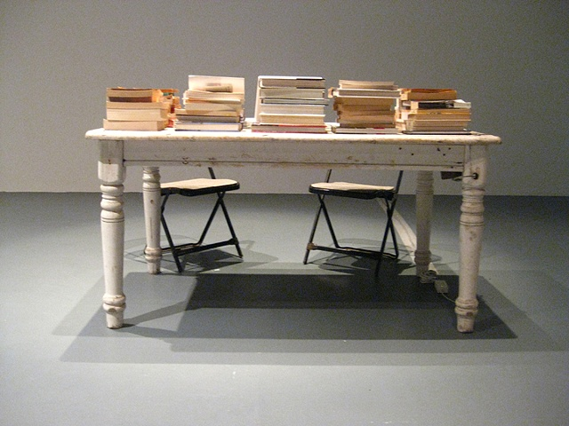 When I am reading I am far away   (installation view)
