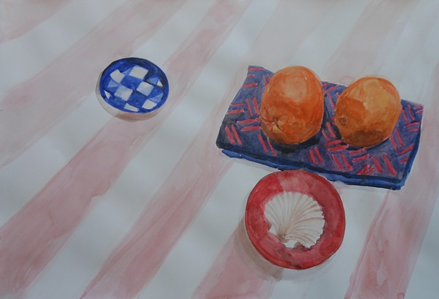 Still Life with Oranges and Shell