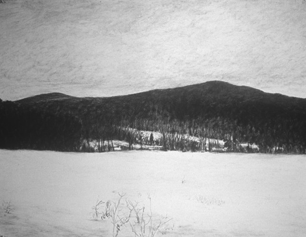 Millay Colony charcoal drawing katherine meyer artist