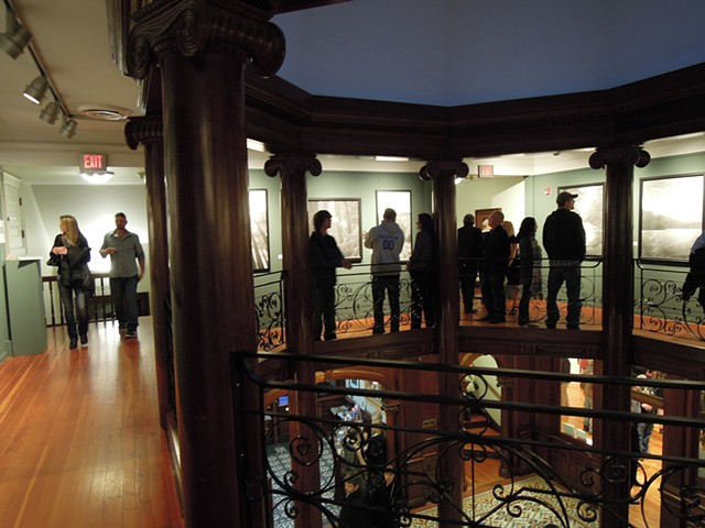 Beginning of the Opening Reception