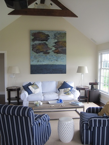 Ocean Clouds installation in a private residence,HAMPTONS