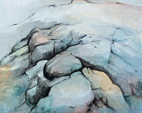 Acadia Watercolor study