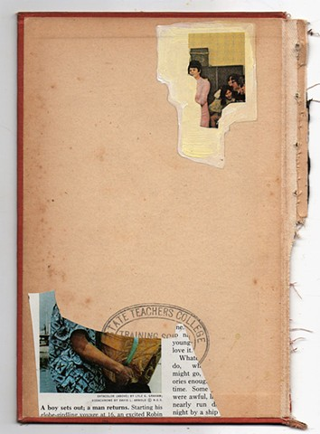 #collage #collageonbookcover #vinatgecollage #analogcollage #artforsale #erikastearly