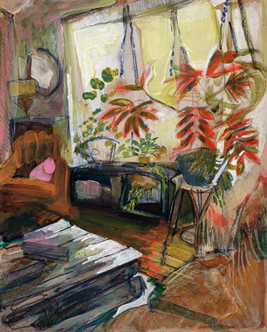 erika stearly, affordable art, daily painting, still life painting, contemporary art, interior space