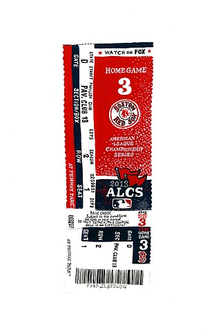 ticket (Red Sox)