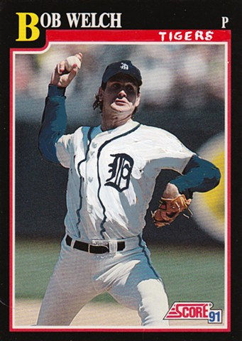 Everyone is on the Tigers- Bob Welch