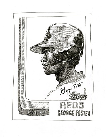 George Foster (Topps 1982)