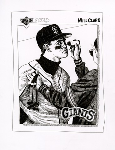 Will Clark (Upper Deck 1992)