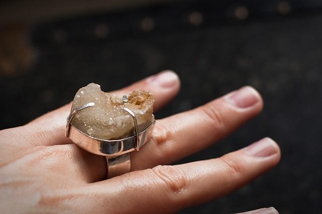 Druzy Ring [one]