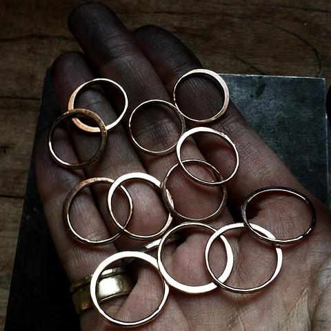 Half Moon Rings