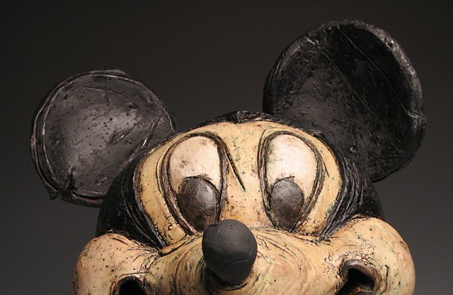 Mickey Mouse Grew Up a Cow. (detail)