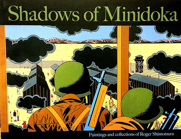 Roger Shimomura Shadows of Minidoka catalog cover