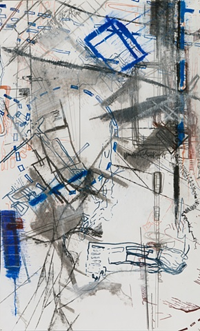 abstract drawing by Jay Hendrick