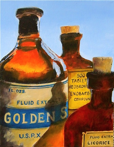 Pop's Old Medicine Bottles No. 2
