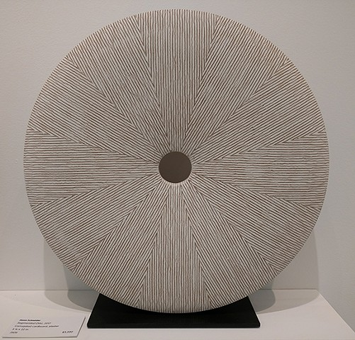 WHITE SEGMENTED DISC