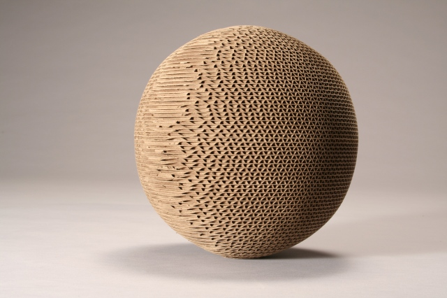 CORRUGATED SPHERE (detail)