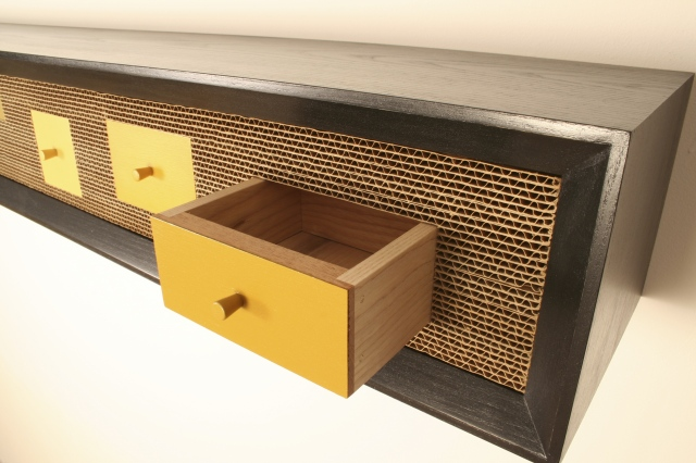 YELLOW CABINET (detail)