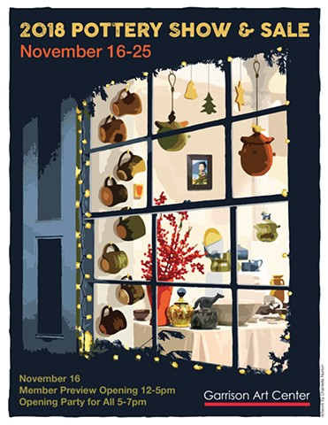 Garrison Art Center Pottery Sale 2018