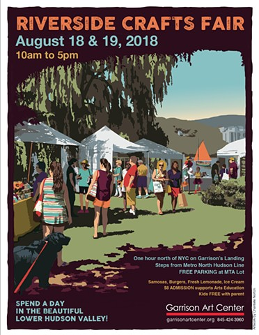 Garrison Art Center Crafts Fair 2018