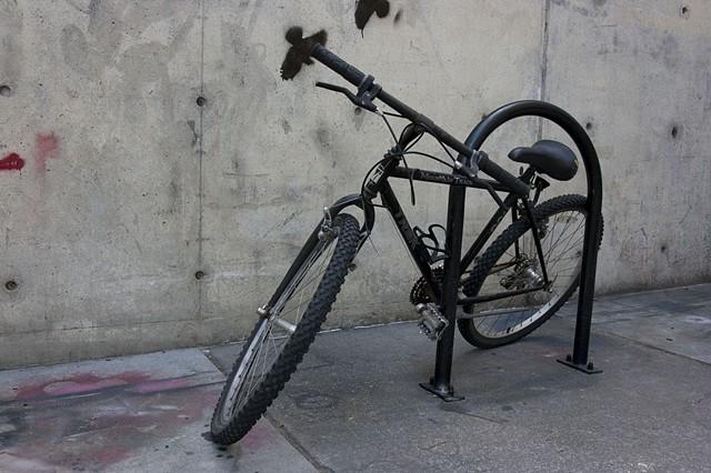 """""""Bicycle on rack"""""""