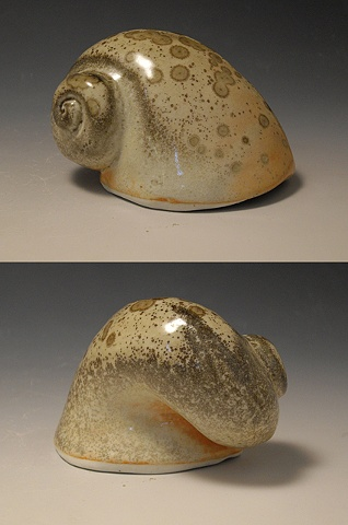 Spotted Rhyton (two views)
