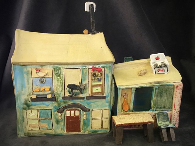 This fun house was a commission of a family's childhood home