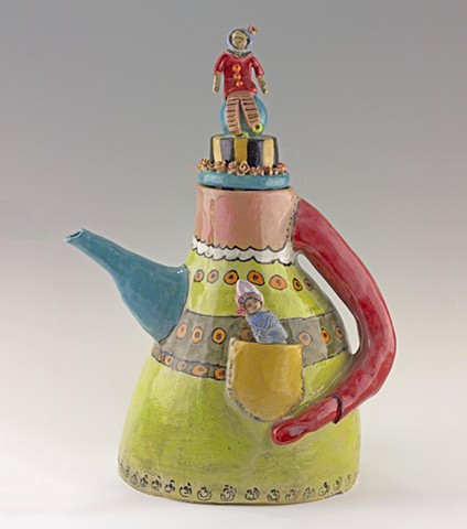 A teapot pregnant with possibilities
