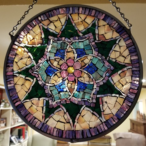 Stained Glass Mosaic Mandala Workshop by David Chidgey
