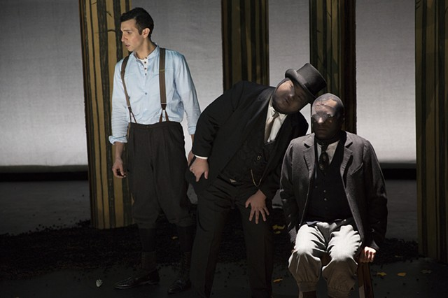 Melchior, The Masked Man, and Moritz