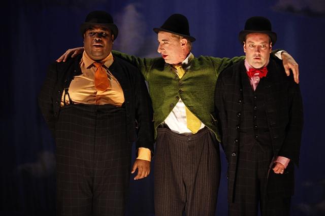 Valere, Sganarelle, and Lucas