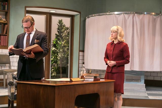 Dr. Prentice and Geraldine