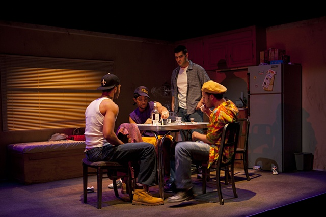 "Stanley, Steve, Mitch and Pablo ""Poker Night"""