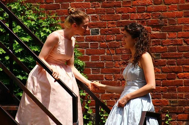 Celia and Rosalind