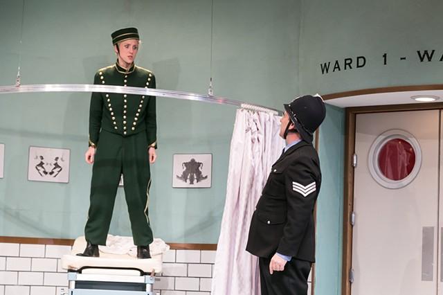 Geraldine Barclay and Sergeant Match