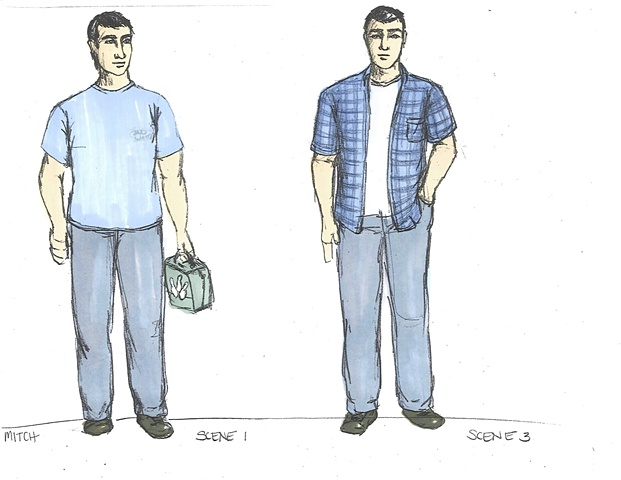 Mitch Scene 1 and 3