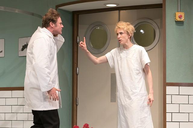 Dr. Prentice and Geraldine Barclay