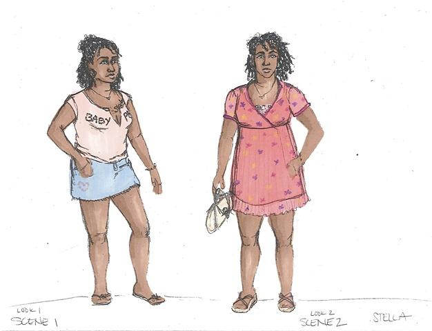 Stella Scene 1 and 2
