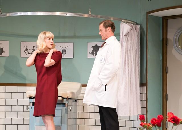 Geraldine and Dr. Prentice