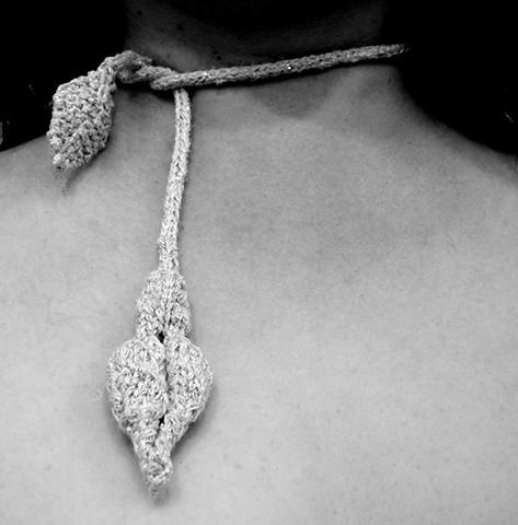 Pod & Leaf Necklace