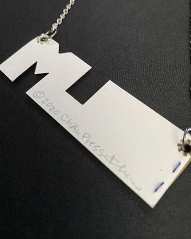 Black Lives Matter Paper Necklace Book
