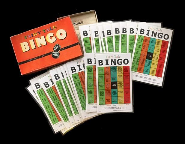 Bingo box opened showing 20 cards